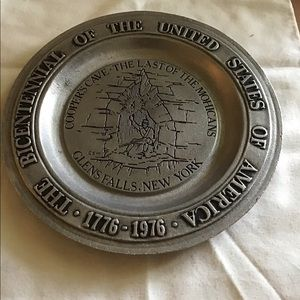 YORK METALCRAFTERS VINTAGE BICENTENNIAL PLATE